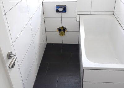 Badsanierung – Schlingen