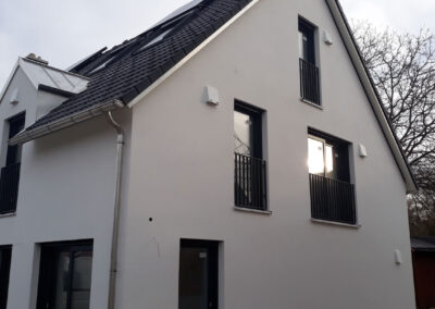 Fassadengestaltung und Innenausbau